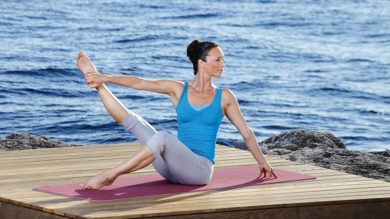 In Balance mit Pilates