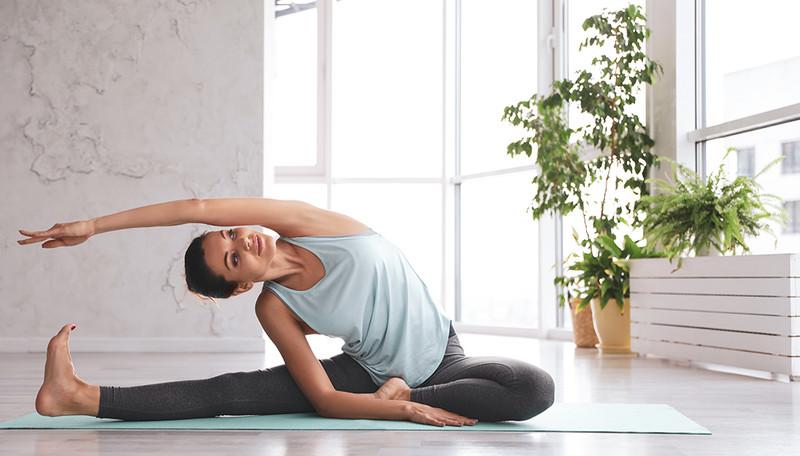Deep & healthy Yoga