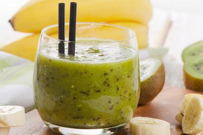 Bananen-Kiwi-Smoothie