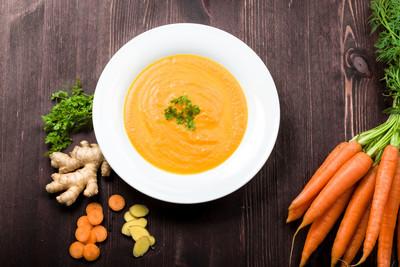 Möhren-Mango-Suppe (vgn)
