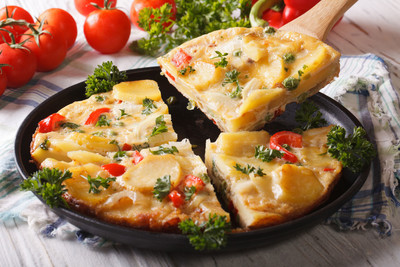 Kichererbsen-Omelett (vgn)